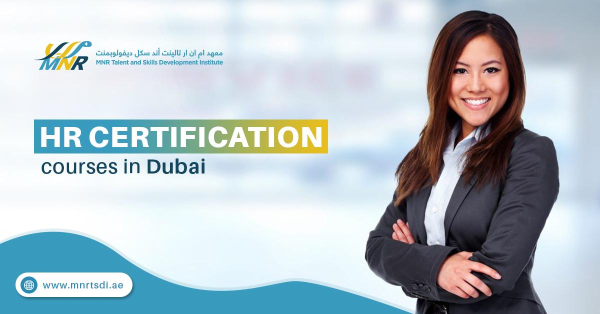 HR Certification course in Dubai